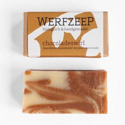werfzeep Chocoladeswirl
