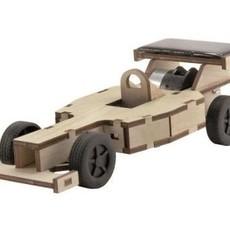 solexpert Kleine racewagen met zonnepaneel