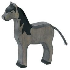 Holztiger Paard Zwart