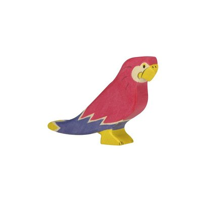 Holztiger Papegaai