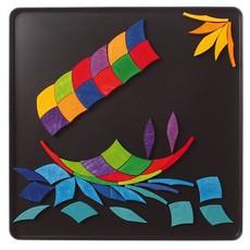 Grimm's Magneet Puzzel Regenboog Spiraal