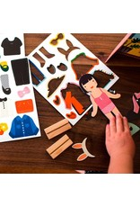 petit collage Magnetisch Aankleedspel Sprookjes