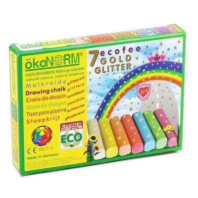 Stoepkrijt glitter