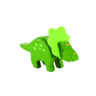 everearth Bamboo Triceratops