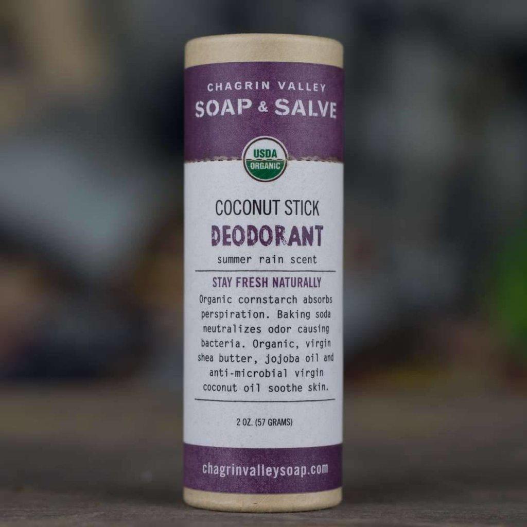 Chagrin Valley Deodorant Coconut stick
