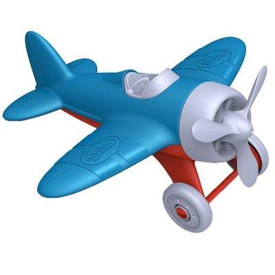 green toys Blauw vliegtuig