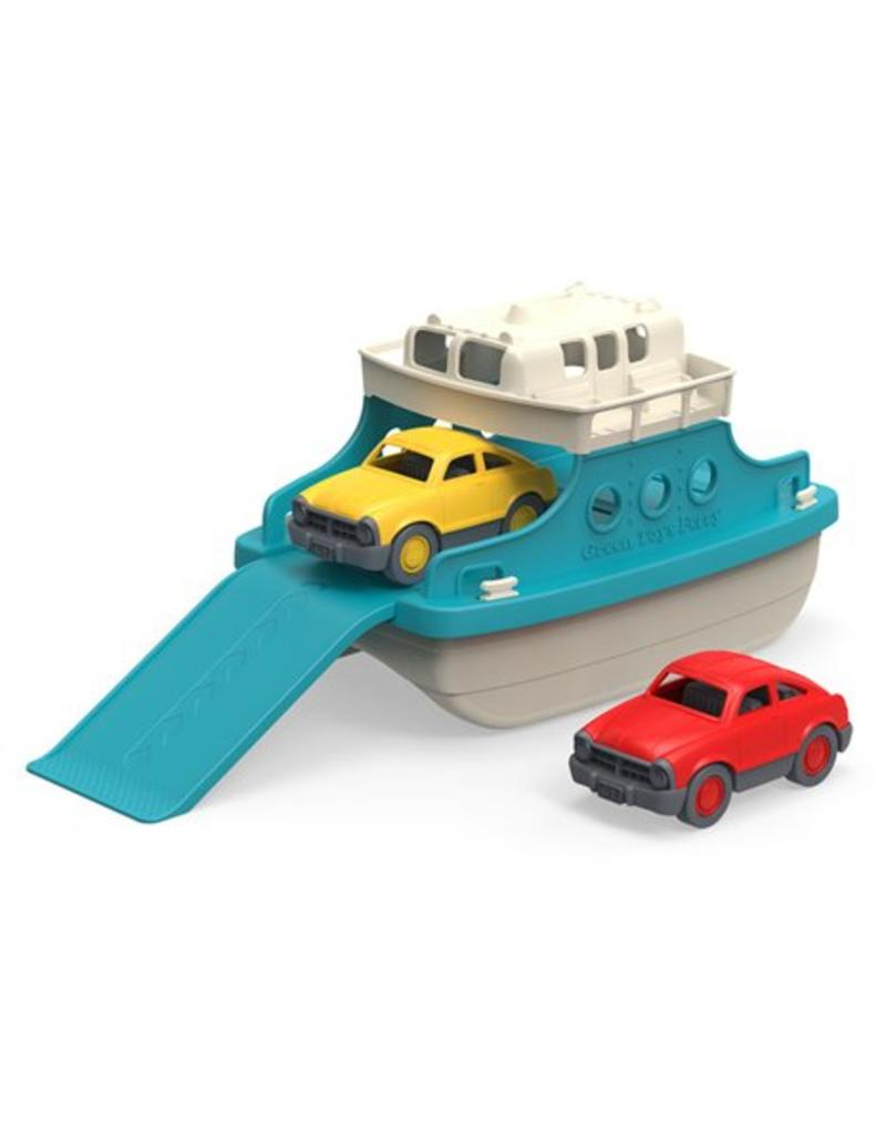 green toys Ferry Boot Met Auto's
