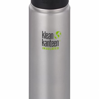 Klean Kanteen 592ml - Wide Insulated - Brushed RVS