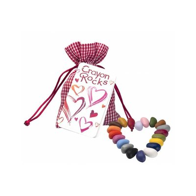 crayon rocks Heart - 20 stuks