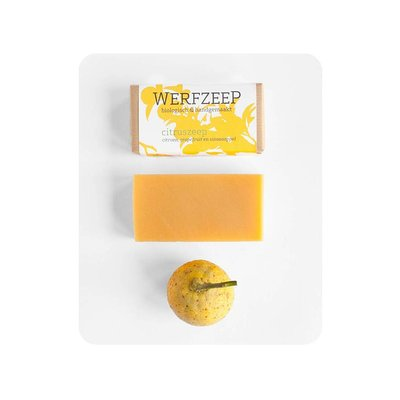 werfzeep citruszeep