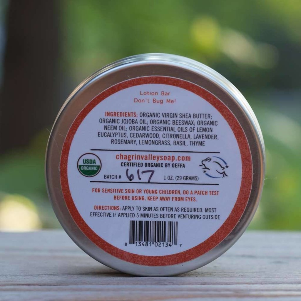 Chagrin Valley Insectwerende lotion bar