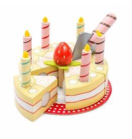 Le Toy Van Vanille verjaardagstaart