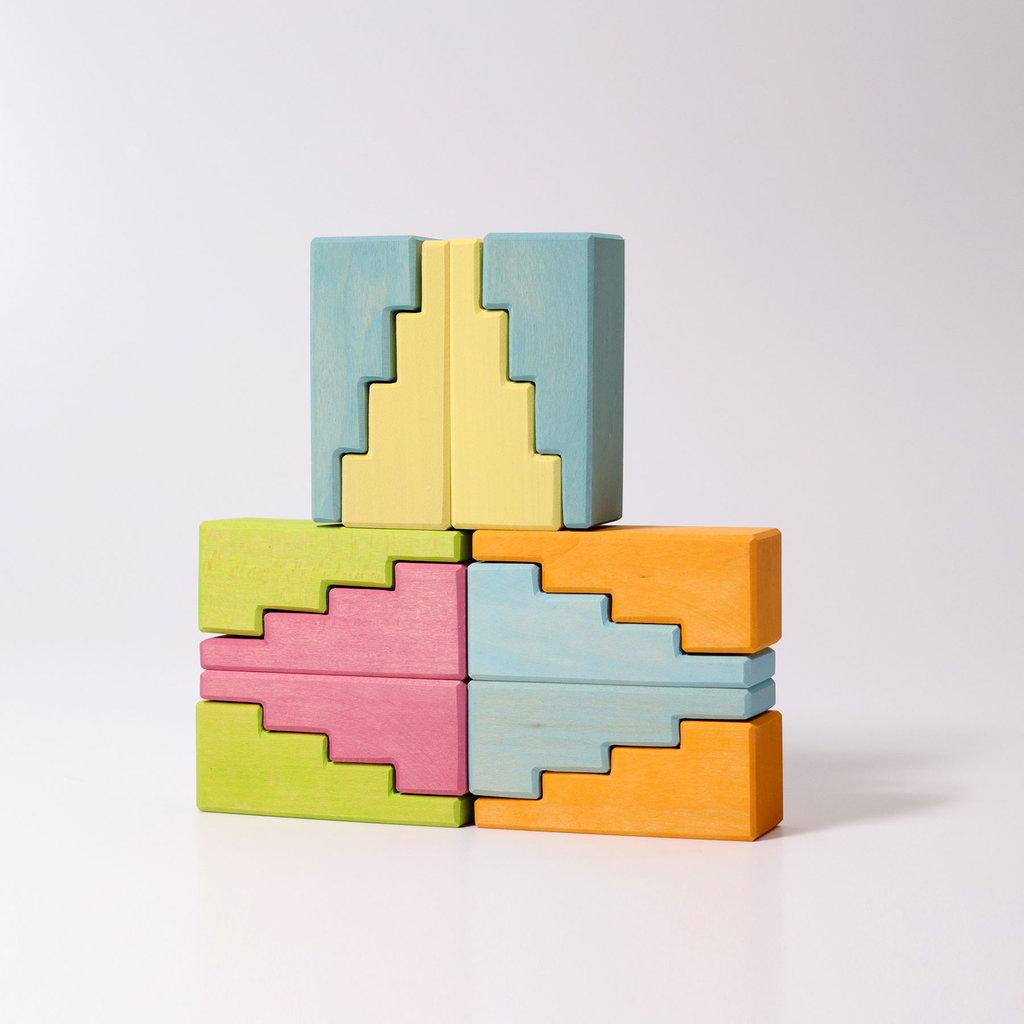 Grimm's Trappen daken - Pastel