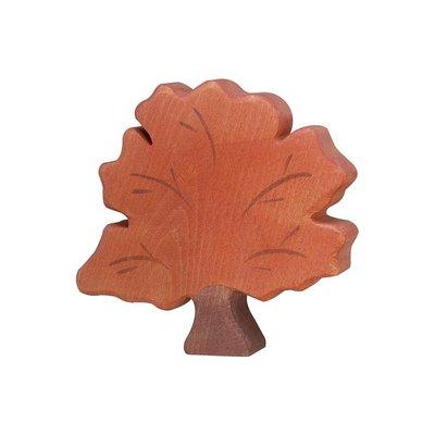 Holztiger Herfstboom