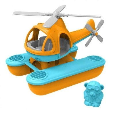 green toys Oranje waterhelikopter