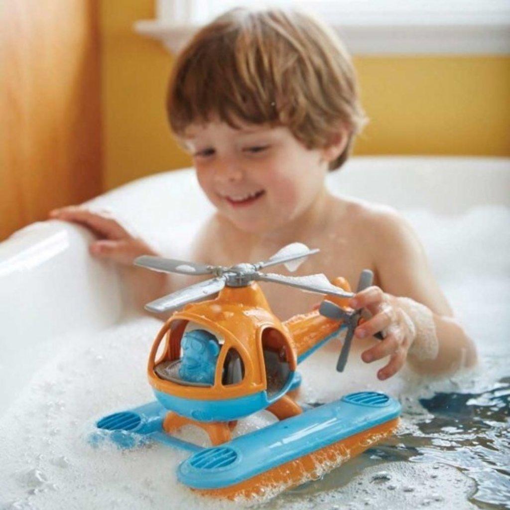 green toys Oranje waterhelikopter