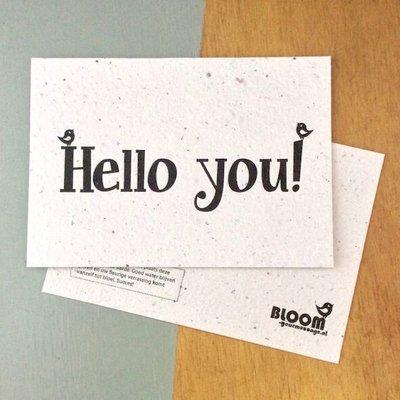 bloom Groeikaart Hello You