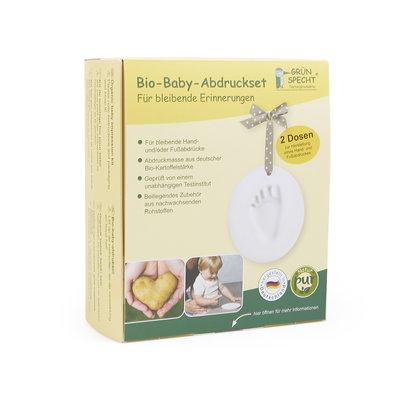 Grünspecht Baby Afdrukset Bio  - 2 potjes