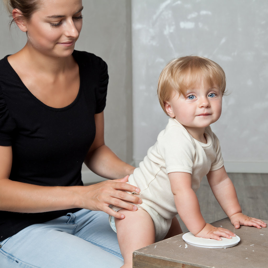 Grünspecht Baby Afdrukset Bio