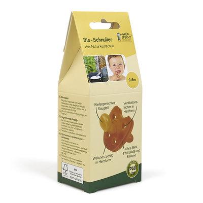 Grünspecht Rubberen fopspeen 0-6m