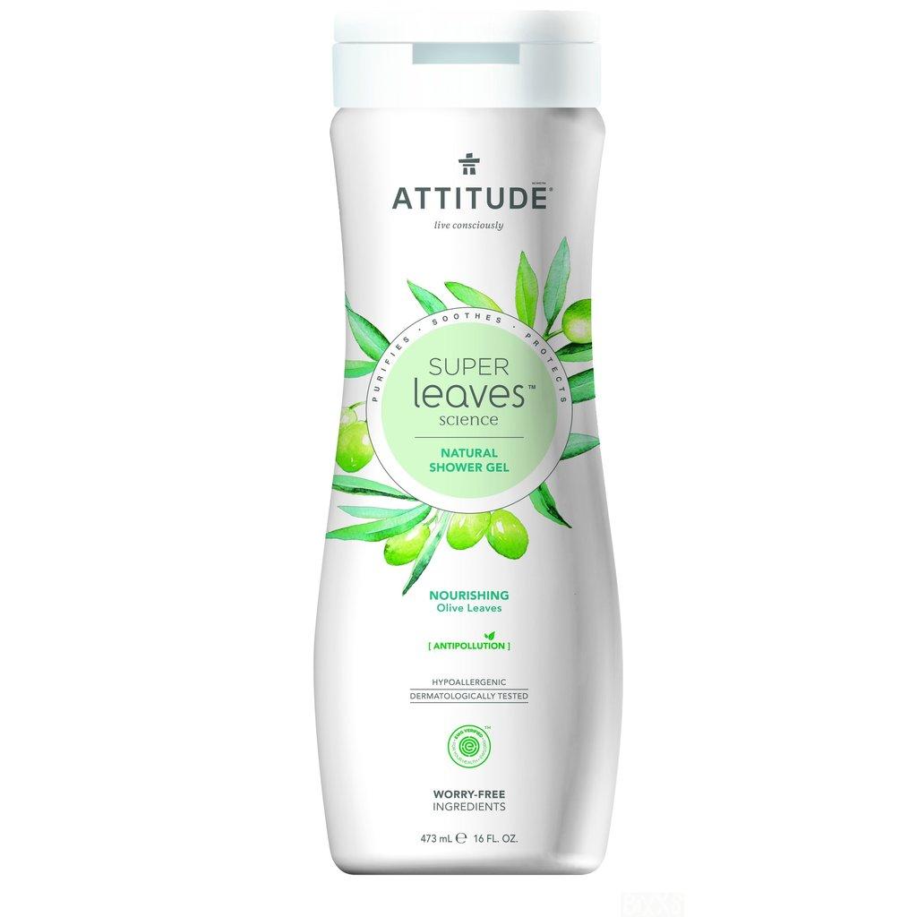 attitude Super leaves - douche gel - nourishing