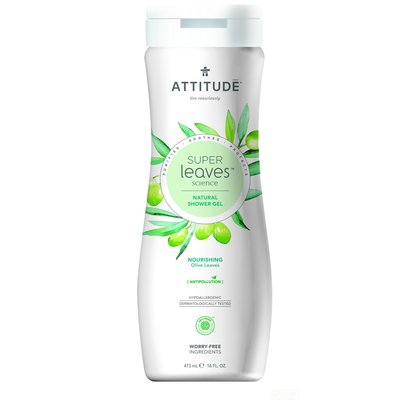 attitude Super leaves - douche gel - nourishing