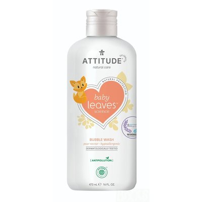 attitude Baby Leaves - Bubbelbad - Pear Nectar