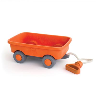 green toys Oranje trekwagen