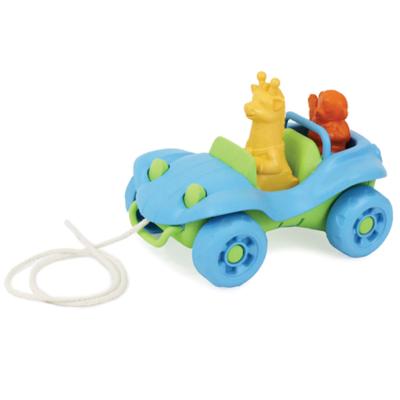 green toys Trekauto Blauw