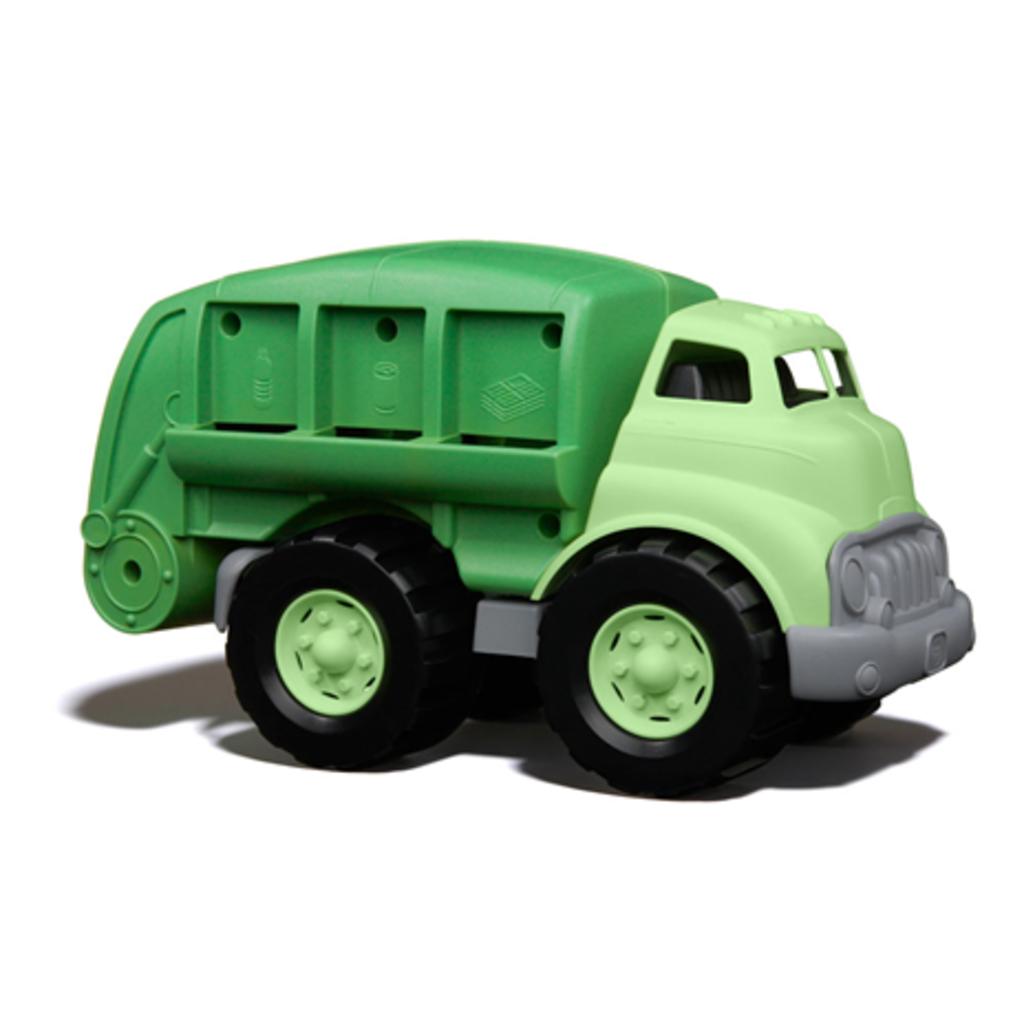 green toys Recycling vrachtwagen