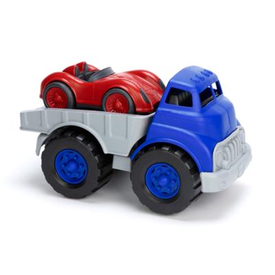 green toys Truck met racewagen