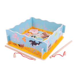 bigjigs toys Magnetisch Visspel met basis
