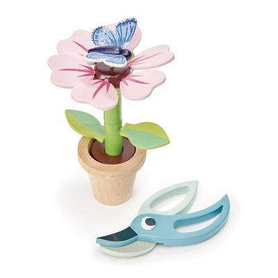 Tender Leaf Toys Bloem en vlinder in pot