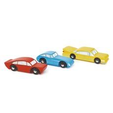 Tender Leaf Toys Houten auto's retro