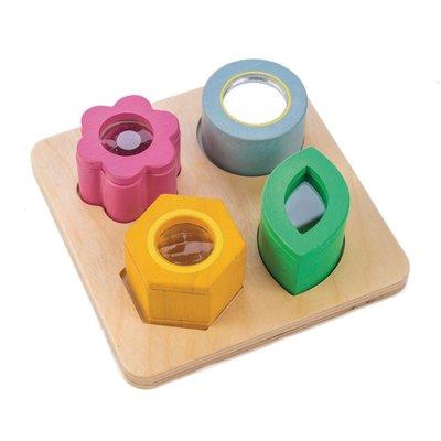 Tender Leaf Toys Ontdekkingsblokken Zien