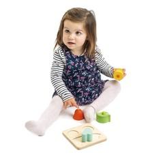 Tender Leaf Toys Ontdekkingsblokken Horen