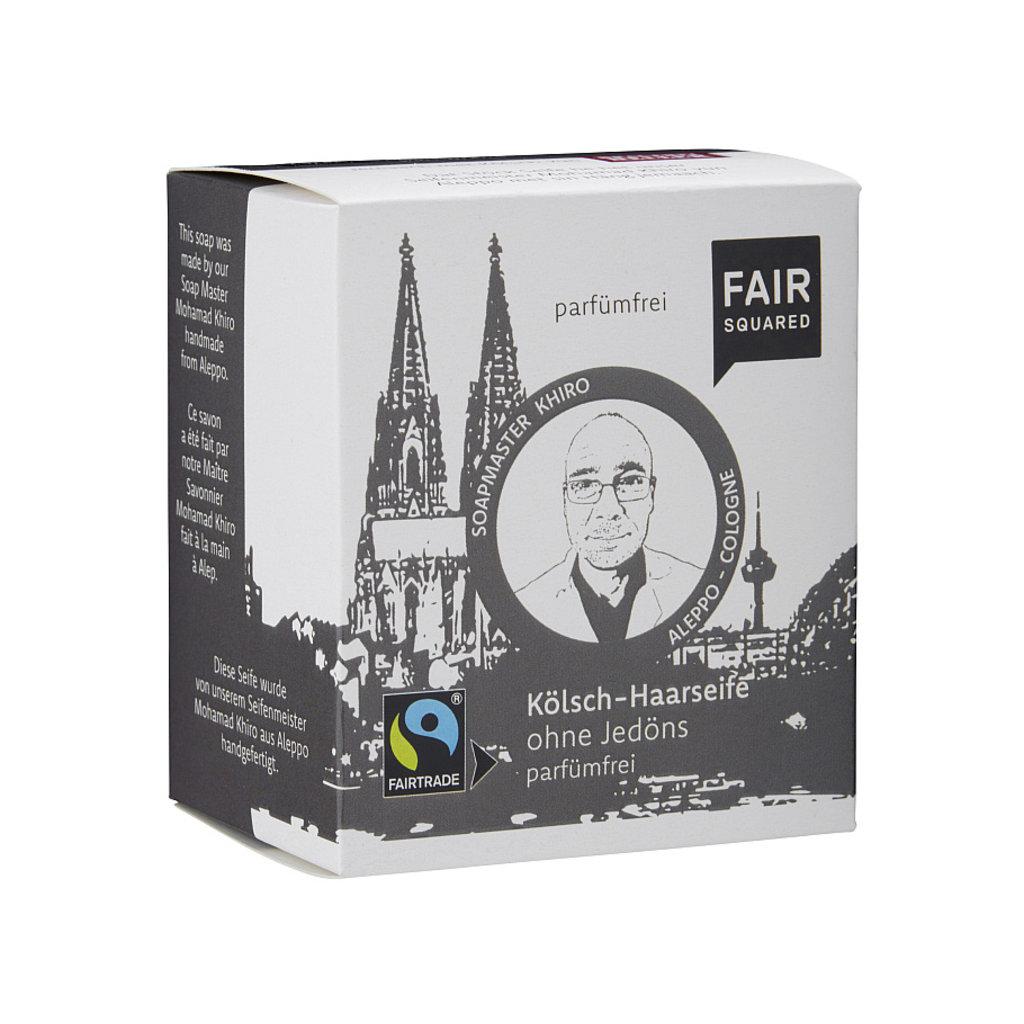 Fair Squared Shampoo kaal hoofd