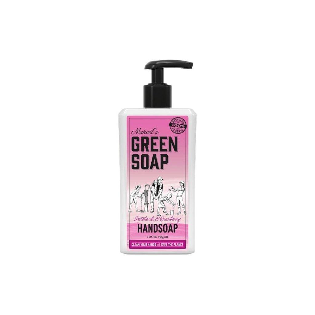 marcel's green soap Handzeep - Patchouli & Cranberry