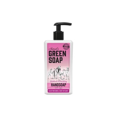 marcel's green soap Handzeep - Patchouli & Cranberry
