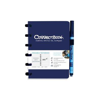 Correctbook Uitwisbaar notitieboek A4 - lijntjes