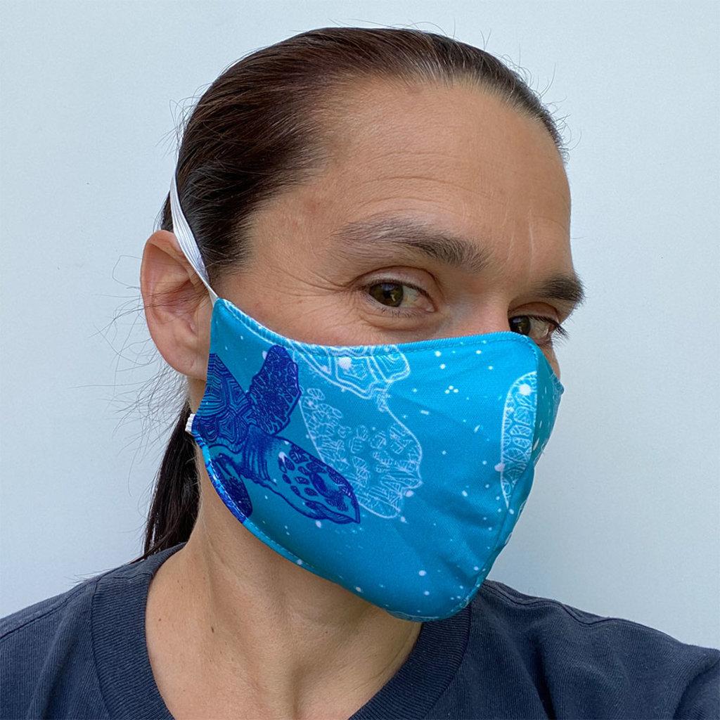 Blümchen Herbruikbaar mondmasker