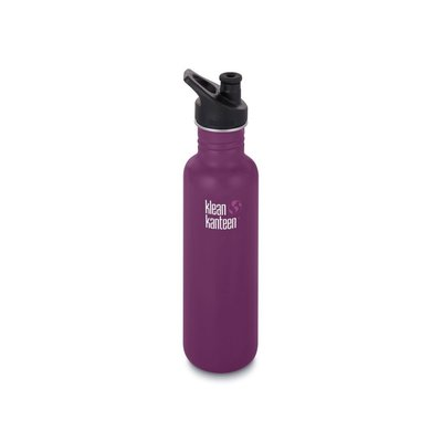 Klean Kanteen 800ml Classic Sport- Winter Plum