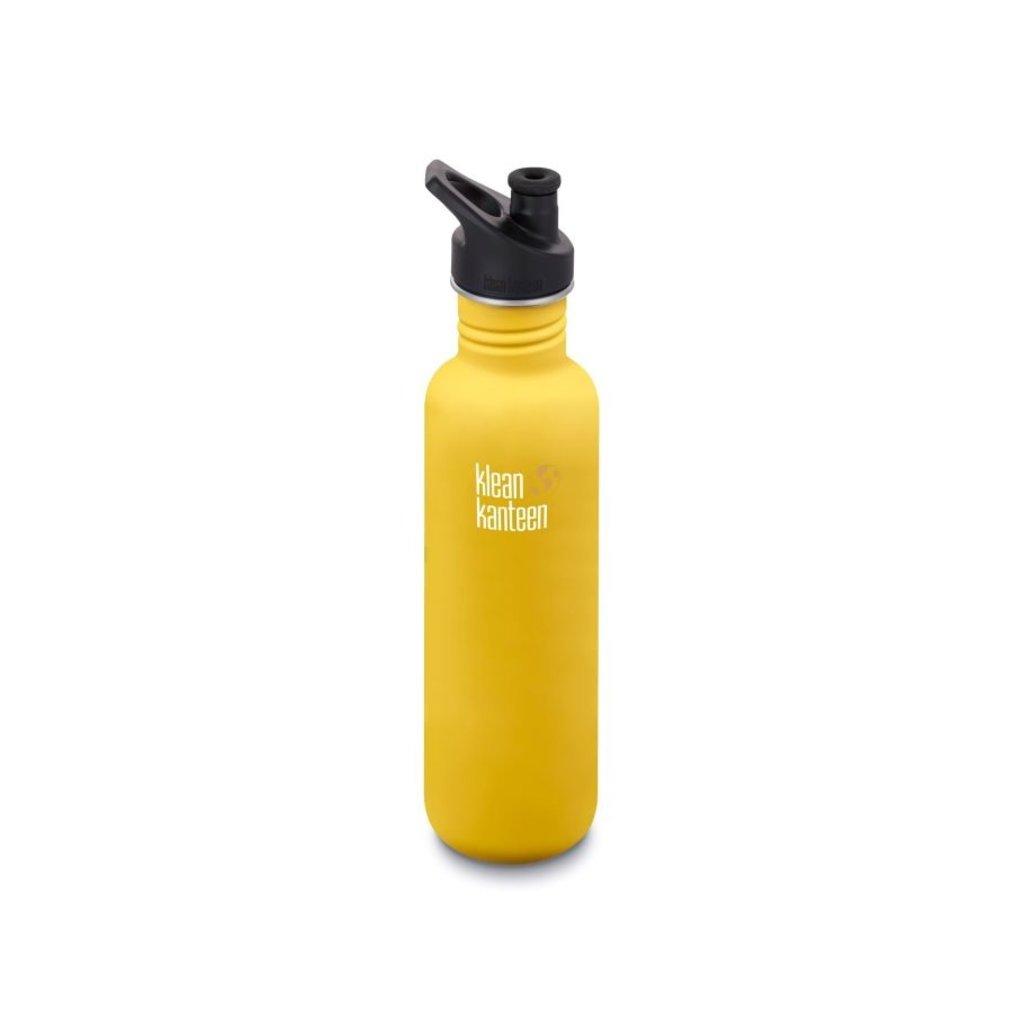 Klean Kanteen 800ml Classic Sport- Lemon Curry