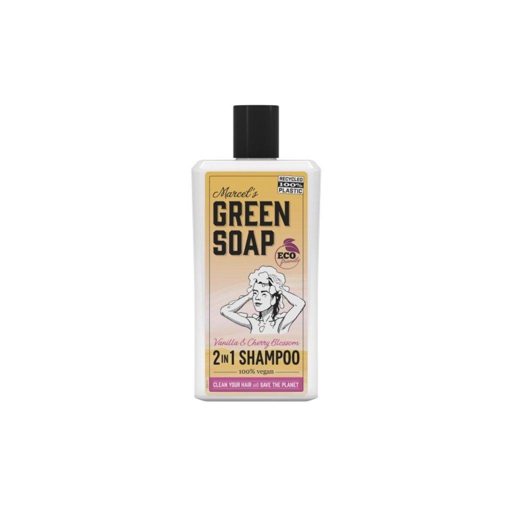 marcel's green soap Shampoo - Vanille en kersenbloesem