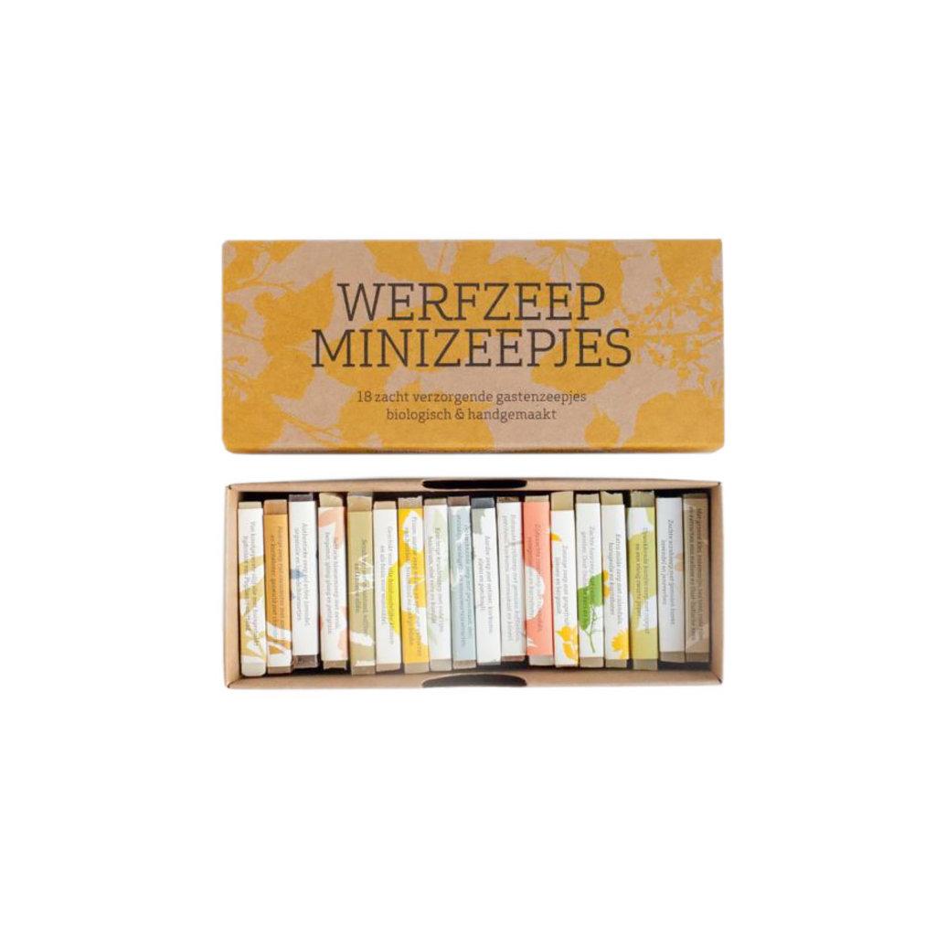 werfzeep Minizeepjes - 18stuks
