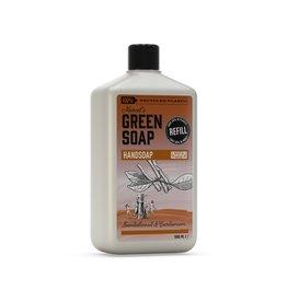 marcel's green soap Navulling handzeep 1 liter - sandelhout & kardemom