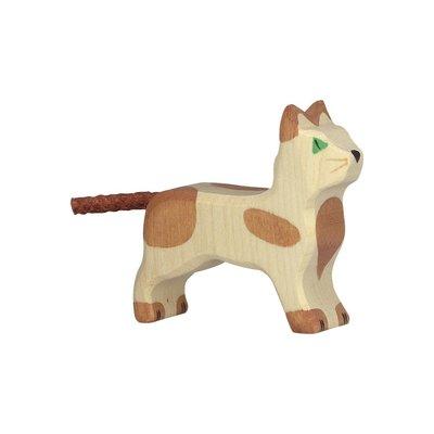 Holztiger Bruin gevlekte kat