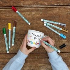 eat sleep doodle Tas met uitwasbare stiften