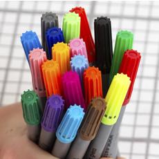 eat sleep doodle Uitwasbare textiel stiften - 20 stuks