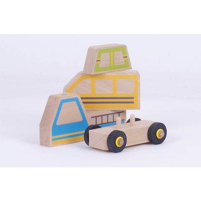 les jouets libres 3 in 1 modulaire auto